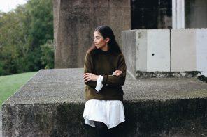 How to style: Blusen mit Volant im Herbst